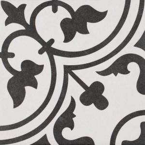 Laura blanco negro pattern