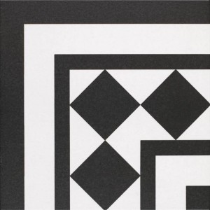 Oxford black & white corner