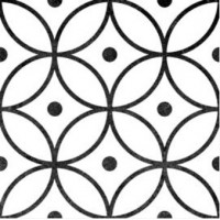 Antibes circle continuous pattern