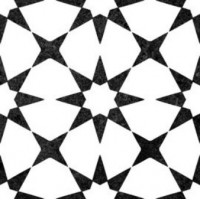 Antibes Star continuous pattern