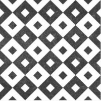 Antibes square continuous pattern