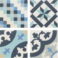 Hanover blue patchwork