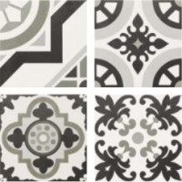 Hanover grey patchwork
