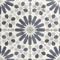 Maroc blue continuous scored pattern