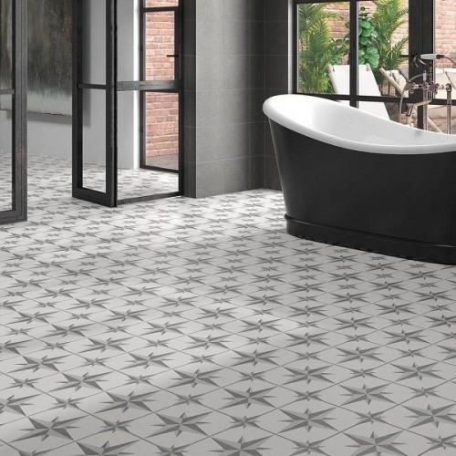 Llanes gris pattern