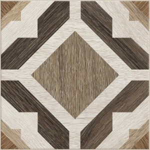 Cementine Home A5 brown contiuous pattern
