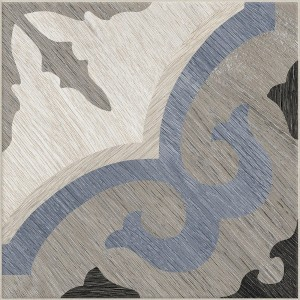 Cementine Home C6 blue grey contiuous pattern