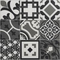 Cementine mix black & white